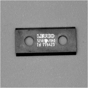 Leuco 776423 TI-Coated Insert Raker Knives - 25mm x 12mm x