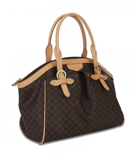 signature-brown-ruched-satchel-with-buckle-by-rioni-designer-handbags-luggage