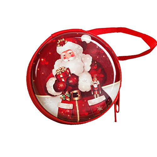 Clearance Sale!UMFun Christmas Santa Claus Wallet Creative Window Decor Pendant Gifts Xmas Decoration (C)