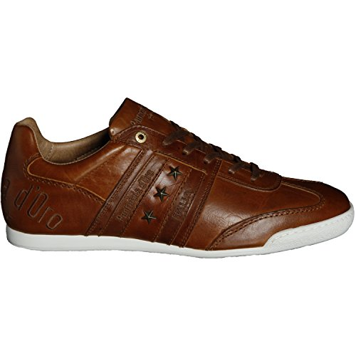 Pantofola d´Oro Herren Sneaker Imola Classico Uomo OP Low Leder Schuh in 3 Verschiedenen Farben zur Auswahl (EU 42 bis EU 46 Verfügbar) Braun (Tortoise Shell)