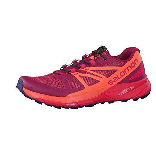 c4be8cc13101 Galleon - Salomon Sense Ride Trail Running Shoe - Women s Sangria Living  Coral Virtual Pink 11