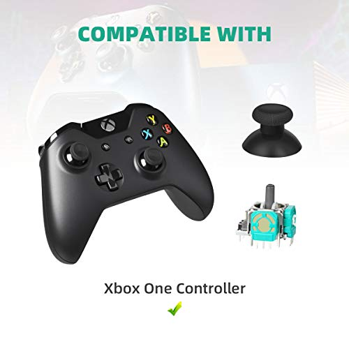 LANMU Replacement Thumbstick Sensor Compatible with Xbox One Controller, Game Controller Repair kit Parts