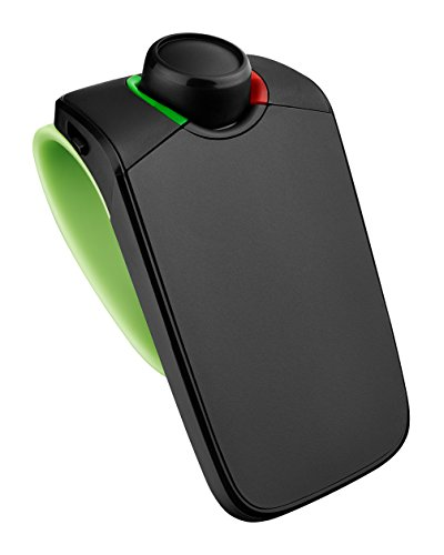 (Parrot Minikit Neo 2 HD - Voice controlled portable Bluetooth hands-free kit with HD Voice, Green)