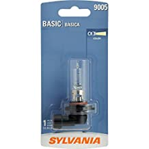 SYLVANIA 9005 Basic Halogen Headlight Bulb, (Pack of 1)