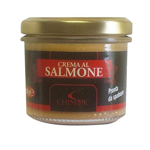Crema de salmón ahumado 100 gr - Oferta 5 Piezas: Amazon.es: Alimentación y bebidas