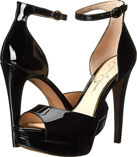 Jessica Simpson Women's Sylvian Dress-Pump, Black, 8 M US