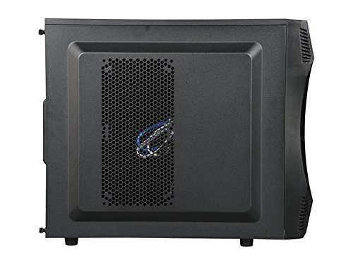 Rosewill S Computer Case Mid-tower Black 7 x 3 x Fan Installed - 0 - Micro ATX, ATX, - 11.24 - 5 Fan - x 5.25 Bay - 3 x