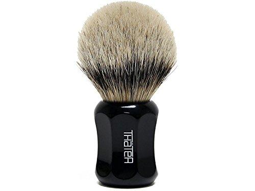 Thater 4125/2 Silvertip Shaving Brush Black by Thater