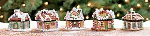 Gingerbread Village Hinged Display Boxes - Decorative (Terrys Village)
