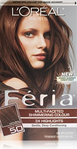 loreal-feria-multi-faceted-shimmering-colour-gel-level-3-permanent-medium-brown-50-pack-of-3