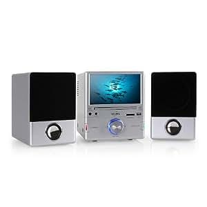 Inovalley CH002E Minicadena CD/DVD radio USB 17,8cm ( 7'')