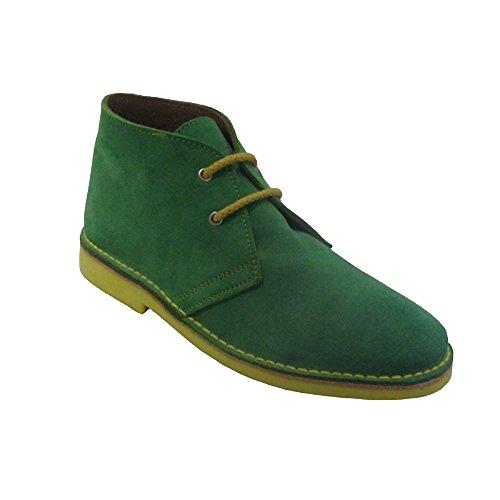 amarillo verdina punta K100PC combinada italiana Bota safari awUwYqSH