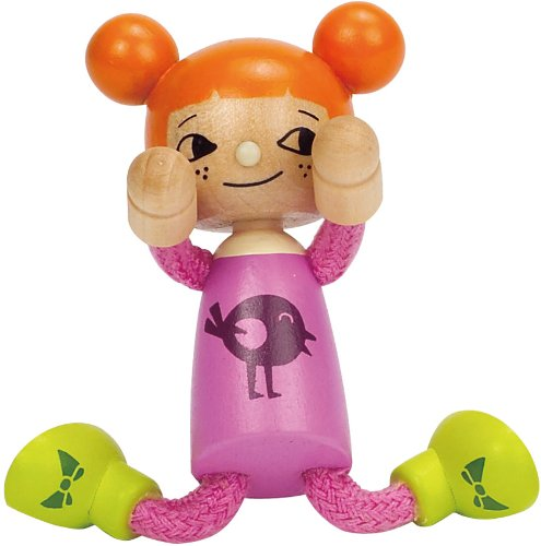 Hape Modern Family Girl Doll