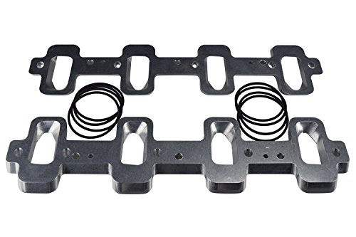 LS1 Cathedral Port Cylinder Head to LS3 LSA ZL1 Supercharger Adapters  Rectangle LSX 551316