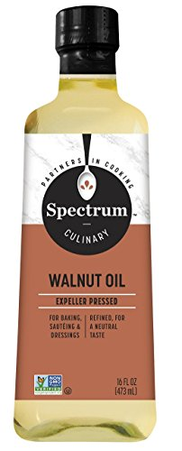 Spectrum Essentials Walnut Oil, Refined, 16 oz