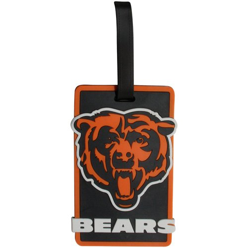 Chicago Bears - NFL Soft Luggage Bag Tag (Bears Luggage Tag)