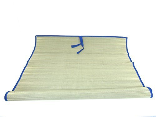 Icetek Sports MatB Straw Beach Mat, Blue, 70'' x 35'' by Icetek Sports