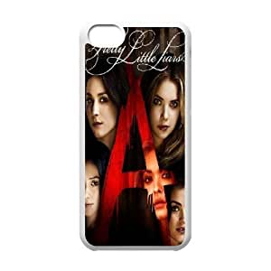 wugdiy DIY Case Cover for iPhone 5C with Customized Pretty Little Liars