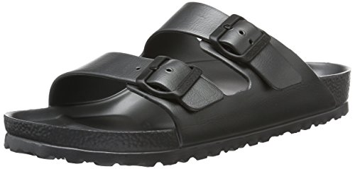 7d7f93034f8 Birkenstock Arizona EVA - Metallic Anthracite 1001497 (Black) Mens Sandals  42 EU