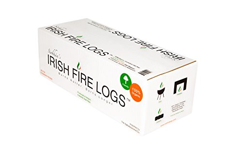 Siobhan's Irish Fire Logs (Irish Peat with Fire Starters)