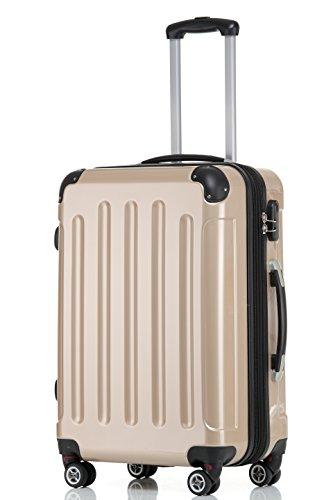 41KBbB NDjL - Beibye - Juego de 3 maletas rígidas (tamaños XL, L y de mano), color lila