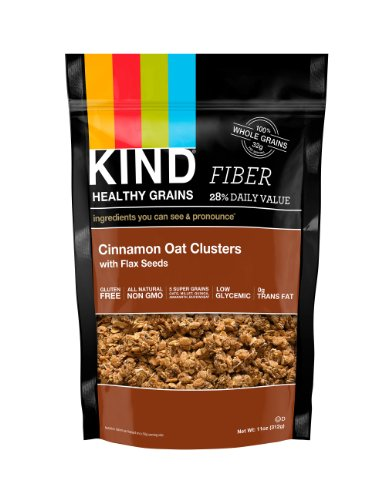 KIND Bars Healthy Grains Cinnamon Oat Clusters with Flax Seeds 11 oz 312 g