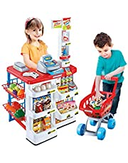 Supermarket Playset Cashier Toy