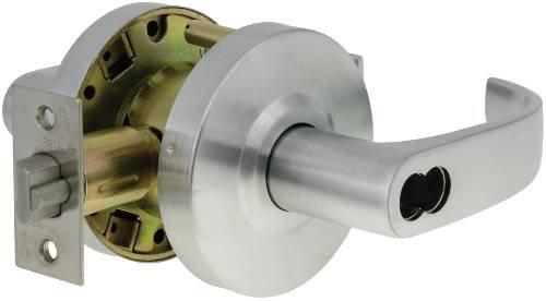 Us Lock E2062 Ent Endurance Curved Clutch Lev 2-3/4