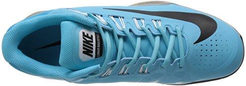 Nike 631653-006, Scarpe sportive, Uomo Plrzd Blue/Blk-mtllc Znc-white