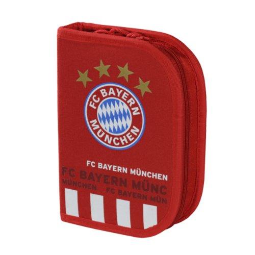 Federmappe, Federmäppchen gefüllt FC Bayern München FCB Schüleretui