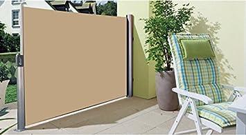 Jalousien seitlich Paravent Außen Sichtschutz für Terrasse – 1.6 x 3 ...