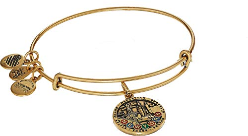 Alex and Ani Women's Places We Love - New York City Bangle Rafaelian Gold One Size