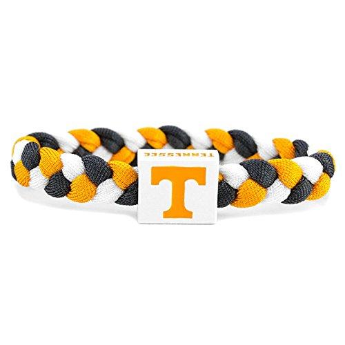 - Glass-U NCAA Game Day Nylon Woven Bracelet - Tennessee Volunteers