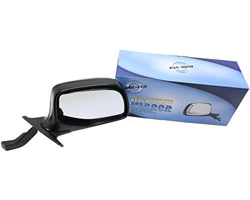 - Kool Vue FD25R Ford F-Series Passenger Side Mirror, Manual, Chrome