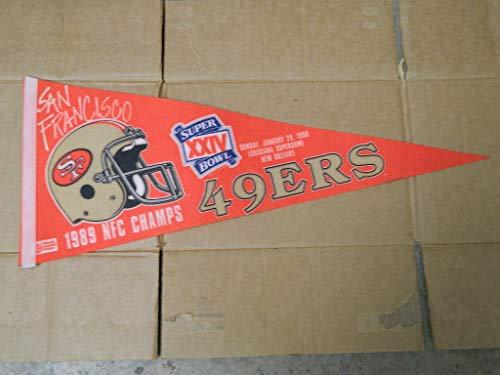 49ers super bowl pennants