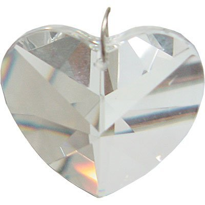 Prism Crystal 40 mm Heart CL (COMES PRE-STRUNG) -