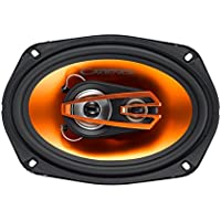Cadence Acoustics Q693 300W 6 x 9 3-Way Q Series Coaxial Car Speakers, Set of 2