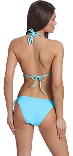 Antie Bikini Conjunto para mujer Hawaii Patrón-308