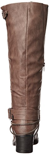 Carlos By Carlos Santana Womens Candace Riding Boot Grå