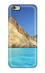 Ernest Burke Iphone 6 Plus Hybrid Tpu Case Cover Silicon Bumper Earth Cliff