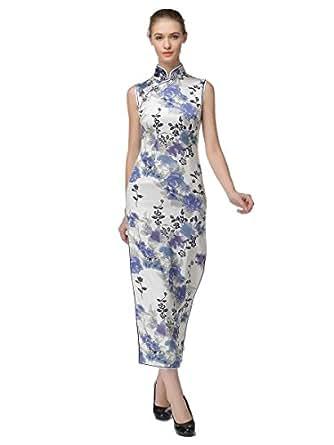 Lily Beauty Chinese Silk Dress