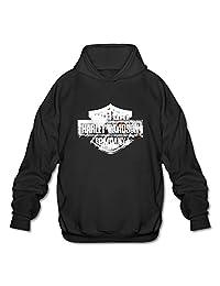 Koala Men's Harley Davidson Logo 2 Sweatshirt Hoodies