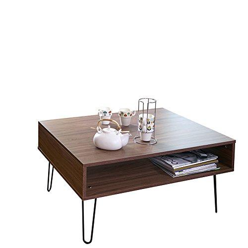 77575fe9e6beaa Symbiosis 2394A0900X00 AERO Table Basse Panneaux De Particules Mélamines  Noyer 89 x 67 x 42,2 cm  Amazon.fr  Cuisine   Maison
