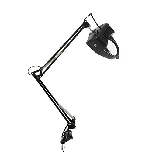 Offex Home Office Magnifying Lamp Black ()