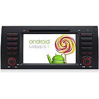 A-Sure Android 5.1 DVD GPS Quad Core Radio Wifi for BMW E53 E39 E39 Lollipop Mirror Link