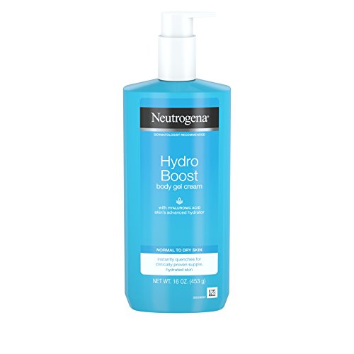 Neutrogena Hydro Boost Hydrating Body Gel Cream, 16 Ounce (pack Of 3)