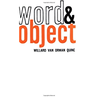 Word and Object (Studies in Communication) (MIT Press)