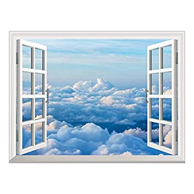 Removable Wall Sticker Wall Mural Sea of Clouds...