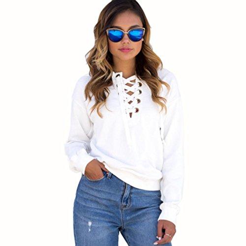 Sunfei Womens Casual Sweatshirt Pullover