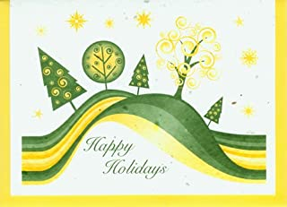 product image for Grow A Note® Holiday Rolling Trees Card 4-Pack